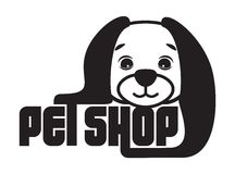 Pet shop sign Royalty Free Stock Photo