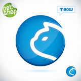 Pet Shop Symbol Royalty Free Stock Image