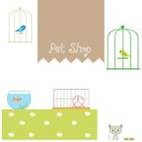 Pet shop Royalty Free Stock Image