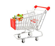 Pet Store Shopping Cart Stock Photo