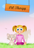Pet therapy Royalty Free Stock Images