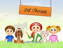 Pet therapy Stock Photos
