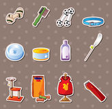 Pet tool stickers Stock Photos