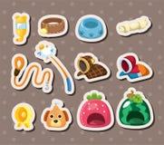 Pet tool stickers Stock Photos