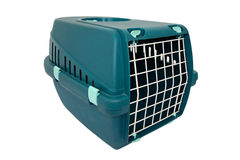 Pet transport box Royalty Free Stock Photo