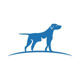 Pet and Veterinarian Logo ,animal lover group Stock Photography