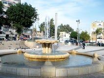 Petach Tikwa Brunnen 2010 lizenzfreies stockbild