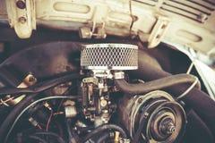 PETAH TIQWA, ИЗРАИЛЬ - 14-ОЕ МАЯ 2016: Задний двигатель Volkswagen Beetle в Petah Tiqwa, Израиле Стоковое фото RF