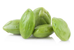 Petai, Bitter Beans isolated on a white background Stock Images