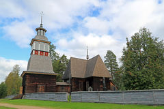 Petajavesi Old Church, Finland. Petäjävesi Old Church was built in 1763-1765, and was included in the Unesco's world heritage list in 1994 as an royalty free stock images