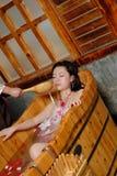 Petal bath Royalty Free Stock Photography