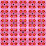 Petal of Hibiscus flower seamless. Pink hibiscus flower in full bloom seamless use as pattern and wallpaper Stock Photo