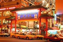 petaling Chinatown ulica Kuala Lumpur Malaysia Fotografia Royalty Free