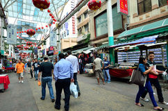 Petaling Straße Stockbild