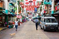 Petaling Street, Kuala Lumpur, Malaysia Royalty Free Stock Photos