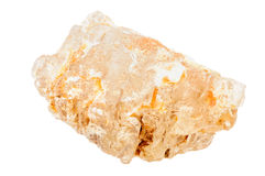Petalite, also known as castorite Royalty Free Stock Photos