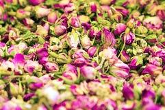 Petalo di rose asciutto Fotografia Stock Libera da Diritti