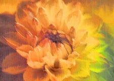 Petals background.digital painting Stock Photos
