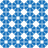 Petals bells. Seamless texture with blue petals bells on white background Stock Image
