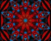 petals för kaleidoscopeleavesmodell steg Royaltyfri Foto
