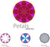 Petals Logo Stock Photography