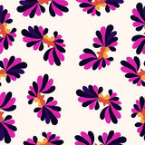 Petals pattern colorful abstract background Royalty Free Stock Photo