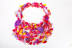 Petals  in shape of bag Stock Photo