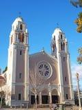 Petaluma Katholieke Kerk stock foto's