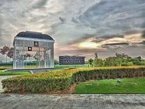 Petang suasana Eco santuary Shah Alam стоковое фото