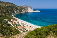 Petani beach, Kefalonia, Greece Stock Photos