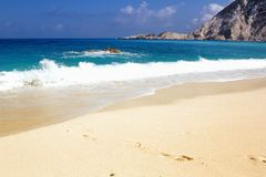 Petani beach Royalty Free Stock Photography
