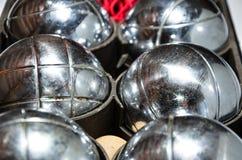 petanque θέστε τη φωτογραφία Στοκ εικόνα με δικαίωμα ελεύθερης χρήσης