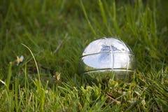 petanque травы шара Стоковое фото RF