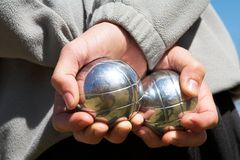 Petanque Stock Images