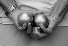 Petanque Stock Image