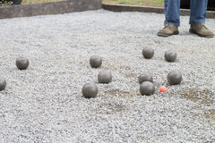 Petanque Royalty Free Stock Photos