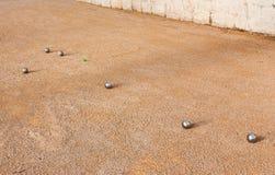 Petanque Photos libres de droits