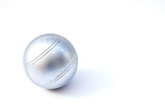 Petanque ball Stock Image