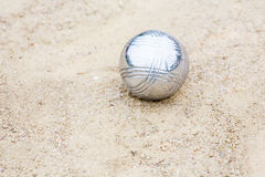 Petanque ball Royalty Free Stock Images