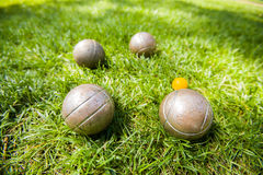 Petanque Royalty Free Stock Image
