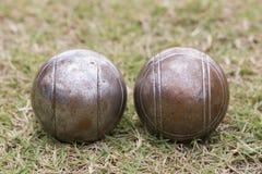 Petanque balls Royalty Free Stock Photos