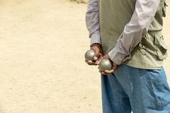 Petanque La Ciotat Royalty Free Stock Photo
