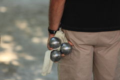 Petanque sport Royalty Free Stock Images