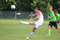 Petar μούσα - Slavia Πράγα Στοκ Φωτογραφίες
