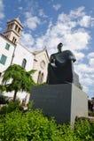 petar Kresimir国王雕象在希贝尼克 库存图片