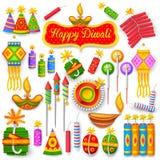 Petardo colorido para la diversión del día de fiesta de Diwali libre illustration
