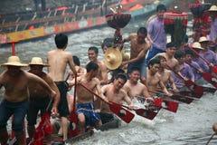 Petardo sulla barca del drago Fotografia Stock Libera da Diritti
