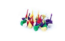 Petardos que hacen estallar para los niños o el 'Estallido-estallido' Imagen de archivo libre de regalías