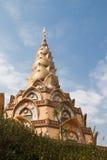 Petchaboon, Thailand. Wat Pha Son Kaew. Beautiful pagoda in Wat Pha Son Kaew, Petchaboon, Thailand stock photography