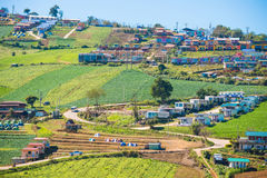 Petchabun , 29 November 2016 :: Small Home on the Mountain at Ph Royalty Free Stock Photo